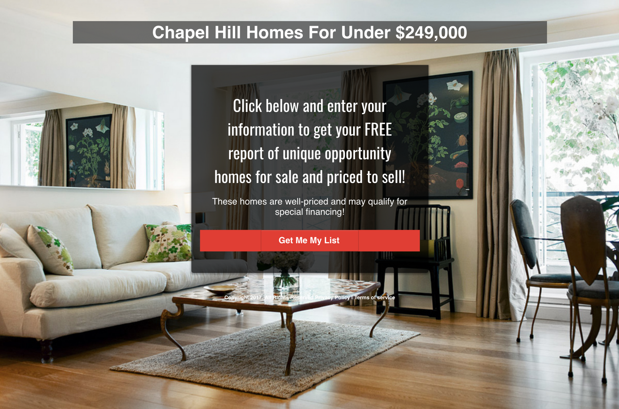 ClickFunnels Example Real Estate Lead Capture